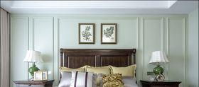 120平米美式风格卧室设计图