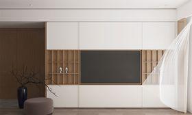 110平米三室一厅日式风格客厅装修案例