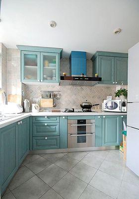 富裕型120平米三室两厅地中海风格厨房装修案例