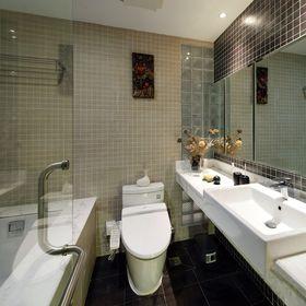 10-15万140平米三室两厅中式风格卫生间效果图