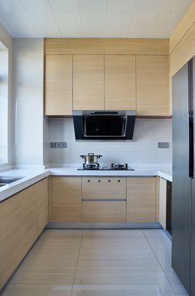 90平米三室一厅现代简约风格厨房欣赏图