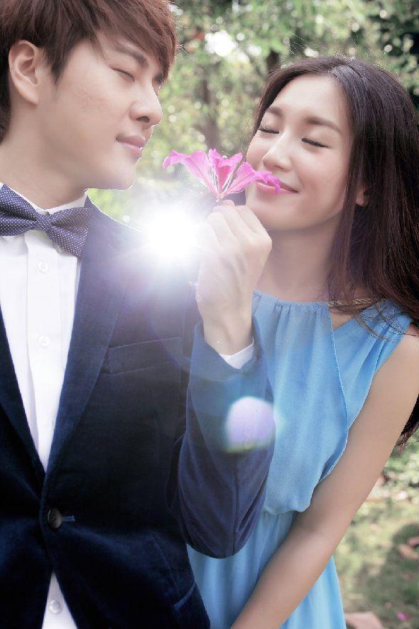 苏青徐海乔浪漫婚纱写真 颜值爆表美腻来袭