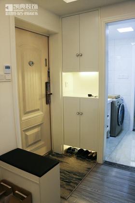 80平米三室两厅北欧风格玄关效果图