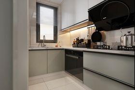 70平米三室两厅现代简约风格厨房图片