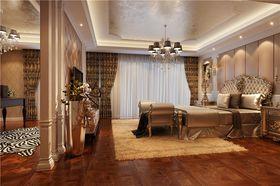 20万以上140平米别墅混搭风格卧室效果图