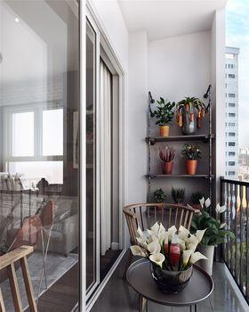 90平米三室两厅北欧风格阳台设计图