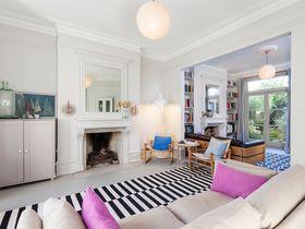 110平米三室两厅法式风格客厅图片