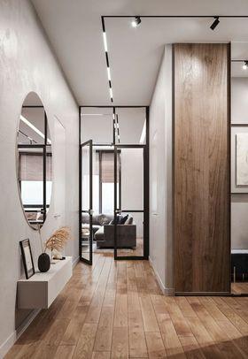 100平米三室兩廳現代簡約風格走廊圖片大全