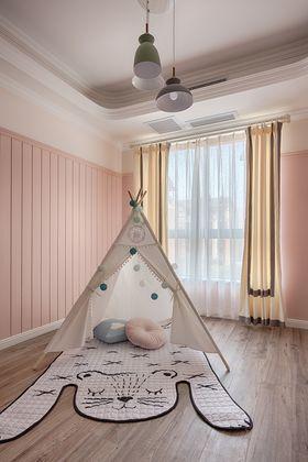 120平米三室两厅美式风格阳光房图片大全
