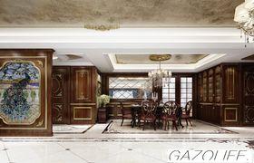 140平米別墅歐式風格餐廳裝修圖片大全