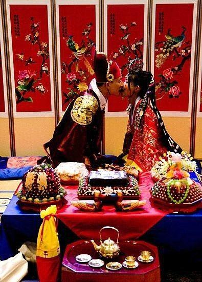 最全传统韩式婚礼习俗和礼仪