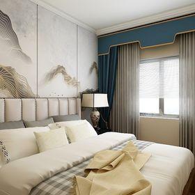 140平米別墅新古典風格臥室圖片大全