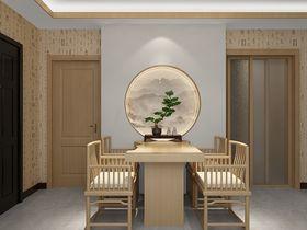 70平米中式风格餐厅装修案例
