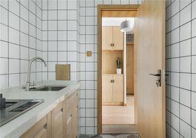 130平米三室两厅现代简约风格厨房图