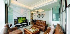 5-10万140平米四室两厅北欧风格客厅装修图片大全