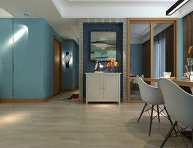 5-10万100平米三室两厅现代简约风格走廊欣赏图