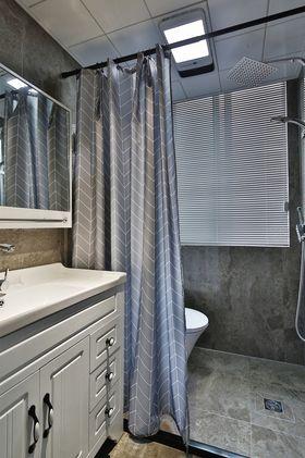 60平米公寓美式风格卫生间效果图