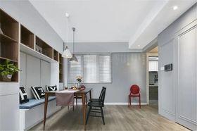 120平米三室兩廳現代簡約風格餐廳設計圖