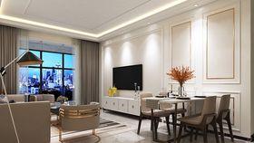 100平米三室兩廳現代簡約風格餐廳裝修圖片大全