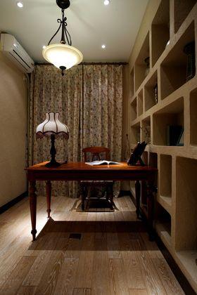 90平米三室两厅地中海风格书房图片