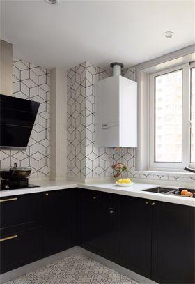 140平米四混搭風格廚房設計圖