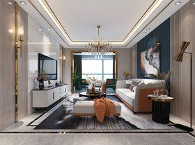90平米三現代簡約風格客廳欣賞圖