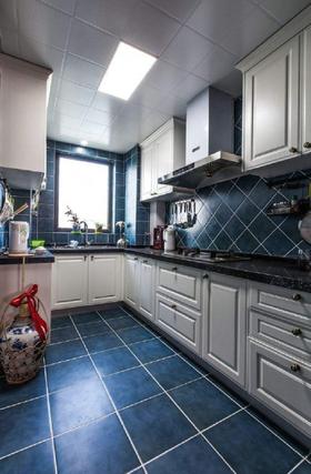 80平米三室兩廳歐式風格廚房效果圖