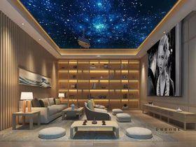 140平米别墅日式风格影音室欣赏图
