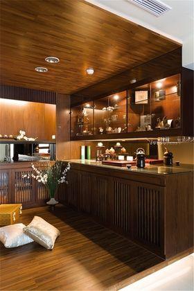 富裕型140平米三室一厅中式风格餐厅图