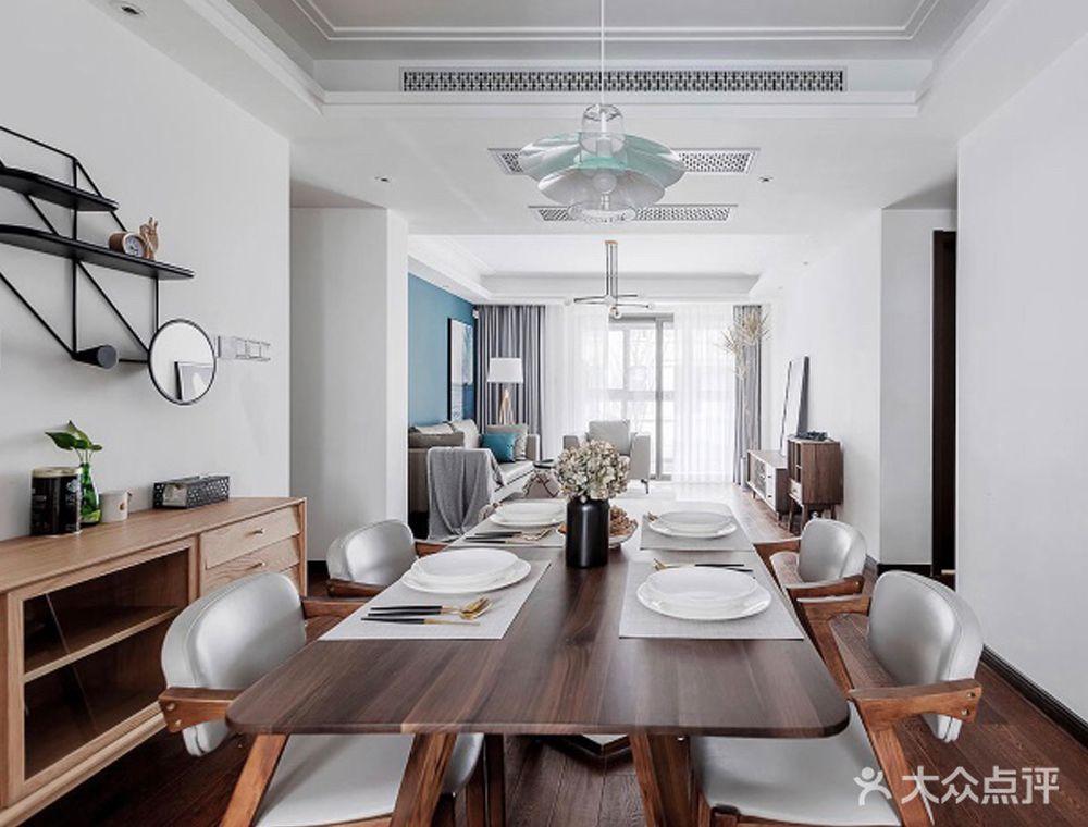 120平米四室两厅混搭风格餐厅效果图