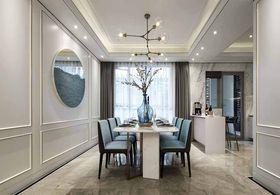 140平米四室三厅法式风格餐厅图