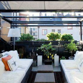 140平米四室两厅混搭风格阳光房设计图