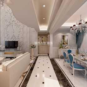 140平米復式歐式風格客廳圖片