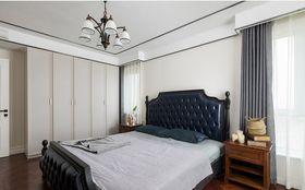 120平米三美式風格臥室效果圖