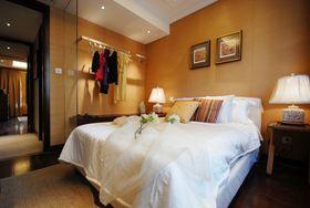 富裕型140平米三室两厅东南亚风格卧室欣赏图