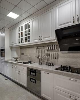 70平米現代簡約風格廚房圖片