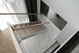 140平米復式現代簡約風格樓梯間裝修圖片大全