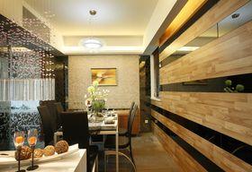 10-15万120平米三室两厅现代简约风格餐厅效果图