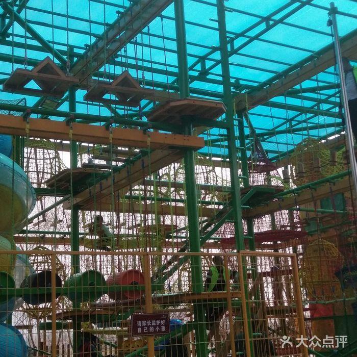 洋湖湿地公园二期儿童探险乐园图片-北京儿童主题乐园