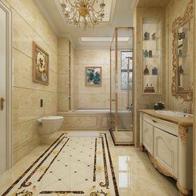 140平米别墅其他风格卫生间装修图片大全
