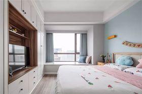 130平米三室一厅北欧风格卧室设计图