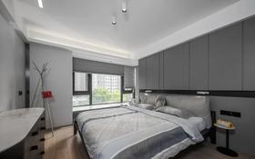 110平米三室兩廳現代簡約風格臥室圖片