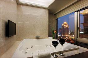 经济型110平米三室两厅现代简约风格其他区域装修效果图