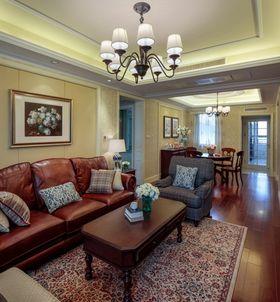 经济型100平米三室一厅混搭风格客厅设计图