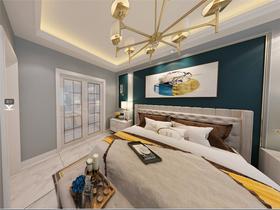 140平米復式美式風格臥室圖片大全