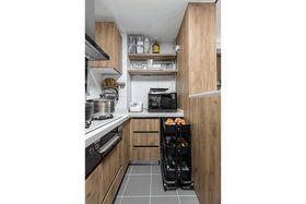 90平米三室兩廳現代簡約風格廚房裝修圖片大全