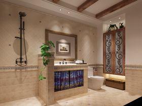 80平米三室两厅混搭风格卫生间图片