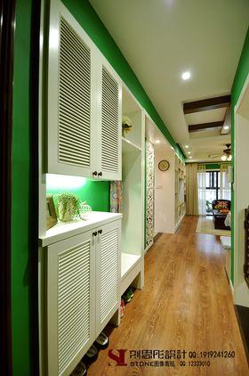 5-10萬80平米三室兩廳美式風格玄關裝修案例
