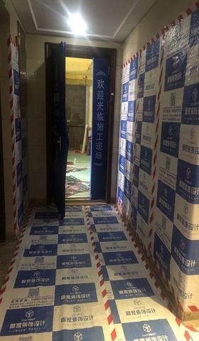120平米三室一厅英伦风格走廊图片大全