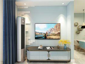 70平米北欧风格客厅设计图
